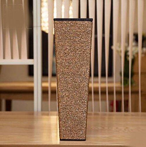 JRFBA Modern Living Room Floor Wooden Vase Decoration Large Vase Flower Simulation Fake Flower,50 * * 11Cm 15.5