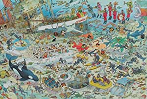 Jan van Haasteren -  Deep Sea Fun Jigsaw Puzzle (2000 Pieces)