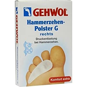Gehwol Polymer Gel Hammerzehenpolster G rechts 1 stk
