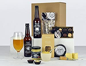 Beer, Cheese & Chocolates Hamper by Highland Fayre Hampers