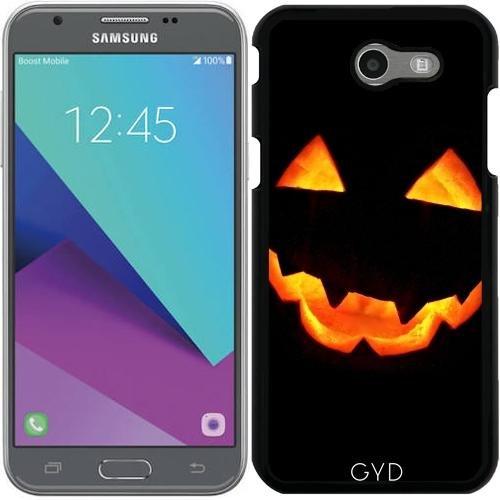 (DesignedByIndependentArtists Hülle für Samsung Galaxy J3 2017 (SM-J327) - Halloween Kürbis by hera56)
