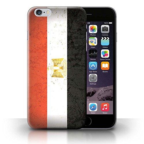 Stuff4 Hülle / Case für Apple iPhone 6 / Senegal/Senegalese Muster / Afrika Flagge Kollektion Ägypten/Ägypter