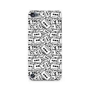 RAYITE Casette Cluster Premium Printed Mobile Back Case For Apple iPod Touch 6