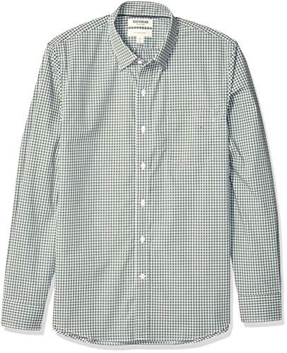 Marca Amazon - Goodthreads - Camisa cómoda popelín