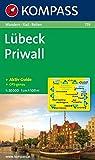 Lübeck, Priwall 1: 50 000: Wanderkarte mit Kurzführer und Rad- und Reitwegen - GPS-genau -