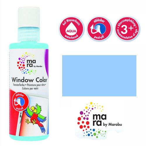 mara by Marabu Window Color, 80 ml, himmelblau VE = 1