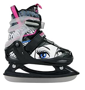 Monster High Drop Dead Gorgeous Patins à Glace Enfant Noir