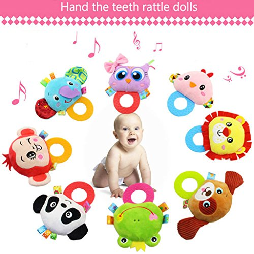 Rattles, OverDose Baby Infant Kids Animal Plush Soft Rattle Toy 51K 2B9eDPzdL