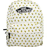 Vans Peanuts Realm Backpack Mochila Tipo Casual, 42 cm, 22 Liters, Negro (Black)