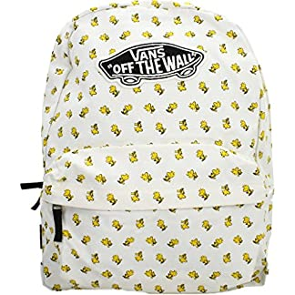 51K%2BAhSaNaL. SS324  - Vans Peanuts Realm Backpack Mochila Tipo Casual, 42 cm, 22 Liters