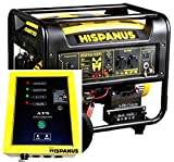 HISPANUS GUARDIAN ATS/SOL 6000wp GENERADOR DE GASOLINA