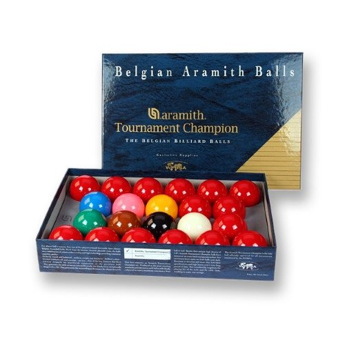 Aramith Super Aramith Tournament 22-Kugel-Snooker-Set, 52,4 mm