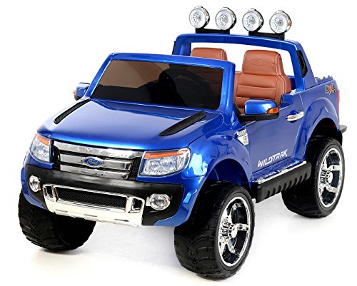 ford ranger elektro auto f r kinder blau. Black Bedroom Furniture Sets. Home Design Ideas