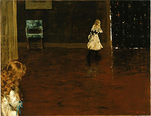 william-merritt-chase-hide-and-seek-a3-tamano-papel-texturizado-impresion-edicion-limitada