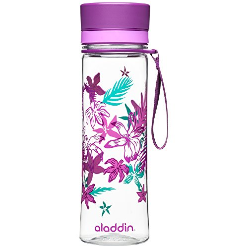 ALADDIN Damen Aveo Trinkflasche, lila, 0,6 Liter