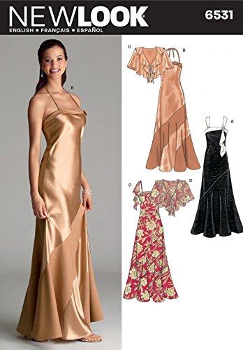 6531 New Look-Cartamodello per vestiti da donna