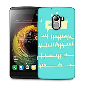 Snoogg Birds feel expoited 2912 Designer Protective Back Case Cover For Lenovo K4 Note