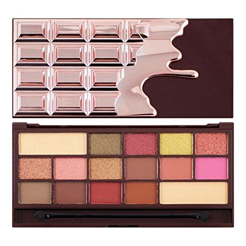 I Heart Revolution Eyeshadow Palette I Heart Chocolate Rose Gold (Palette Rose)