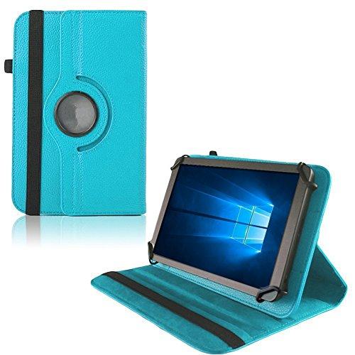 UC-Express Hülle Blaupunkt Enterprise 1020CH Tablet Tasche Schutzhülle Universal Case Cover, Farben:Türkis