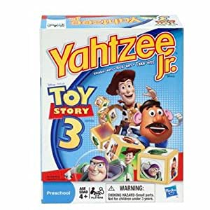Hasbro 19864 Disney Toy Story 3 Yahtzee Jr Spiele (Englisch Ausgabe)