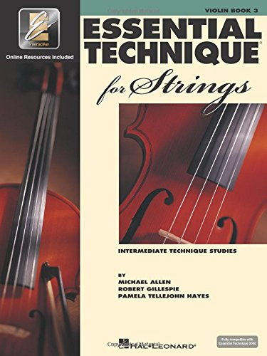 Essential Technique for Strings with Eei: Violin por Robert Gillespie