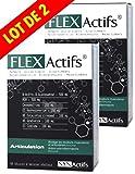 SYNActifs - FLEXActifs Articulation SYNActifs - Complément alimentaire - Extrait de curcuma - Soulage les douleurs musculaires et articulaires grâce à son action anti-inflammatoire - Souplesse des articulations et des tendons - Lot de 2 x 60 Gélules