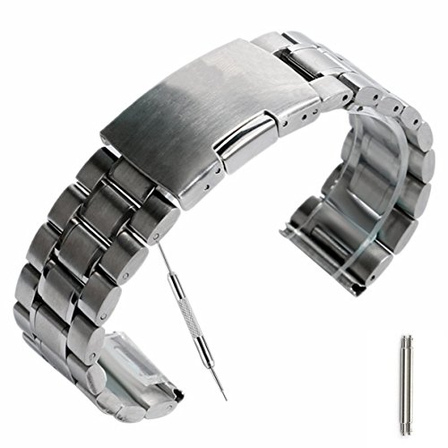 yisuya-sliver-20mm-solid-stainless-steel-watch-band-strap-20cm-single-locking-fold-over-clasp-polish