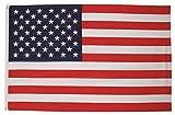 MFH Fahne 90x150 cm Länderflagge WM EM Hissflagge Nationalfahne Deutschlandfahne (USA)