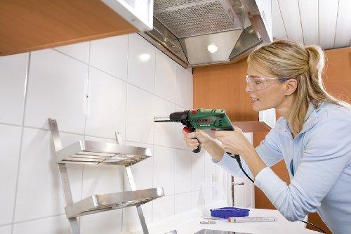 Bosch DIY Schlagbohrmaschine PSB 570 RE, 4 tlg. Universalbohrer-Set, Zusatzhandgriff, Tiefenanschlag, Koffer (570 W, max. Bohr-Ø: Beton 10 mm, Holz: 25 mm) - 3