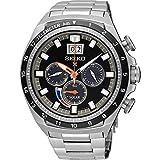 Seiko Herren Chronograph Solar Uhr mit Edelstahl Armband SSC603P1