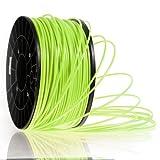 Kaisertech Filament für 3D Drucker 1kg PLA / ABS 1.75mm / 3mm - Premium Qualität & verschiedene Farben (PLA 1.75mm, Limette)