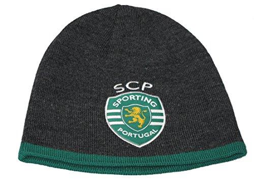 puma-acrylic-sporting-lisbon-portugal-grey-green-reversible-football-beanie-hat-osfa