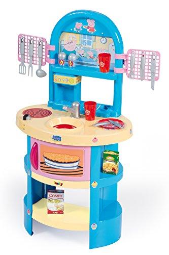 Smoby 7600024259 - Peppa Pig Super Cucina con Accessori Inclusi