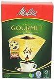 Melitta Gourmet Filtertüten 1x4 AromaporenPlus Naturbraun, 80 Stück