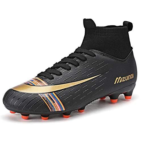 Zapatos de Fútbol Hombre Spike Aire Libre Profesionales Atletismo Training Botas de Fútbol Ligero...