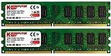 Komputerbay 4GB 2X2GB DDR2 667MHz PC2-5300 PC2-5400 (240 PIN) DIMM Desktop-Speicher