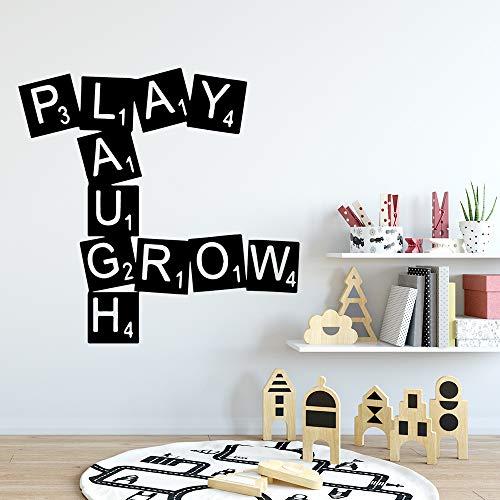 Benutzerdefinierte Spielzimmer Wohnkultur Vinyl Wandaufkleber Für Wohnkultur Wohnzimmer Schlafzimmer Wandtattoo Wohnkultur 57 cm X 58 cm