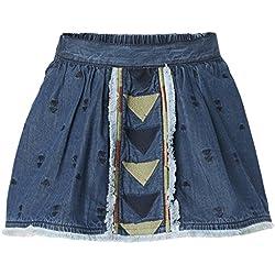 Noppies G Skirt Wvn Short Alamosa, Falda para Niños, Blau (Mid Blue C300), 24 Meses