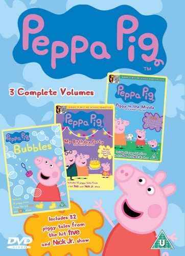 Price comparison product image Peppa Pig Triple (Piggy in the Middle, My Birthday Party, Bubbles) [DVD]
