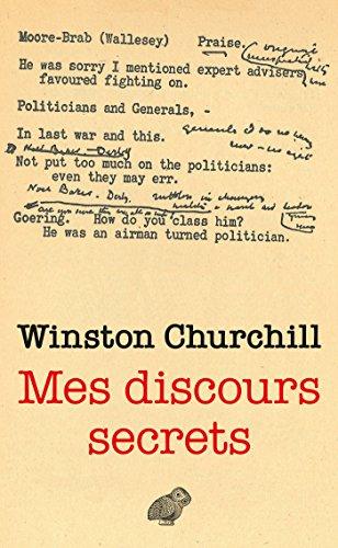 Mes discours secrets par Winston Churchill