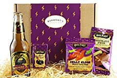 Idea Regalo - The Ultimate Harry Potter Selection Box - Non-Alcoholic Butterscotch Beer, Chocolate Frog, Jelly Belly Bertie Bott's Beans & Jelly Slugs. Hamper Exclusive To Burmont's