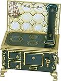 Rülke Holzspielzeug 22115 Nostalgieherd, schwarz