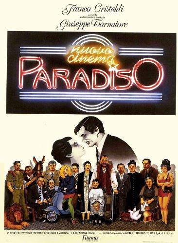 Cinema Paradiso: nuova versione Poster film In 11 17 x 28 cm x 44 cm, Antonella Attili Enzo Cannavale Isa Danieli Leo Gullotta Marco Leonardi Pupella Maggio