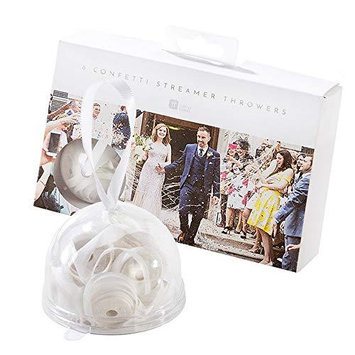 Talking Tables weiße Papierbänder für Hochzeiten (Niedlichen Hochzeit Bevorzugungen)