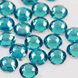 Beads4crafts 1000 X Glue On 3Mm Flat Back Rhinestone Bridal Stone Gemstones Craft Scrapbook, Colour: Blue -Cfb815