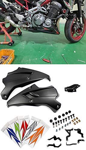 ayouyue Para KAWASAKI Z900 2017 Motor Spoiler Carenado Aftermarket  Protector de la cubierta del carenado de la motocicleta Belly Pan Motor  Spoiler