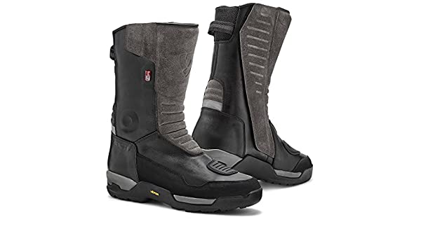 Rev It Gravel OutDry Motorcycle Boots 43 Black FBR032-0010-43 UK 9