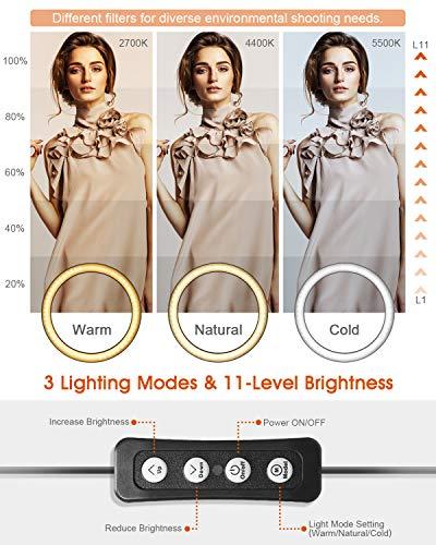 Zoom IMG-2 elegiant luce per selfie 10