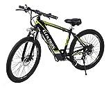 Elektron BG368 - Electric Hybrid Bicycle 17 inches (Glossy Black)