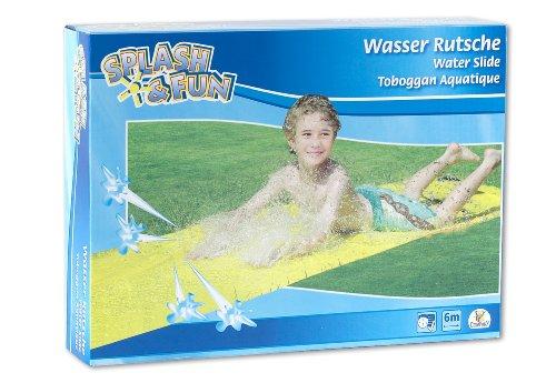 The Toy Company Splash & Fun Wasserrutsche, gelb, ca. 600 x 80 cm